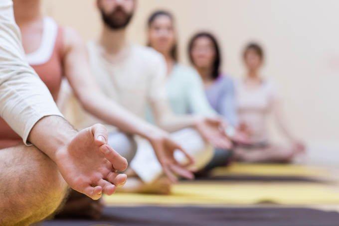 El acto de meditar